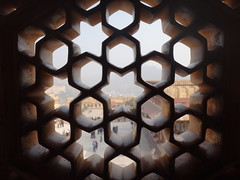 moucharabieh, fort d'Amber (jffourmond) Tags: india amber rajasthan inde moucharabieh