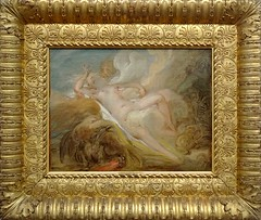 La Nymphe Io et Jupiter, Jean-Honor Fragonard, 1748. Collections du muse des beaux-arts dAngers. (Lejeune Grgory) Tags: france art museum painting muse peinture lille palaisdesbeauxartsdelille jeanhonorfragonard expositionjoiedevivre