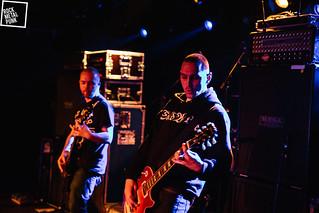 March 14, 2015 // Redemption Denied at Muziekodroom // Shot by Jurriaan Hodzelmans