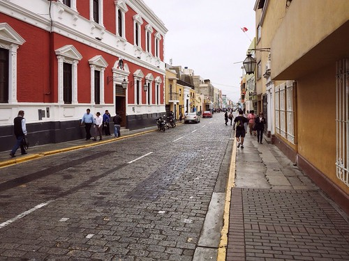 City Streets Of Trujillo