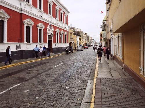 City Streets Of Trujillo