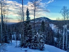 Winter mornings in Lutsen (Camera Bread) Tags: morning winter snow mountains minnesota sunrise snowboarding skiing snowfall goodmorning lakesuperior northernminnesota lutsen iphone lutsenmountains