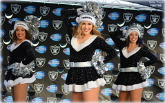 2015 Oakland Raiderettes @ Raiderville (billypoonphotos) Tags: santa christmas ladies girls light black hat sarah silver oakland photo dance football team nikon women san pretty cheerleaders jessica nfl nation picture diego dancer kelly coliseum bud females cheerleading squad fabulous raiders chargers raider 2015 raiderette raiderettes raidernation oco d5200 raiderville billypoon billypoonphotos