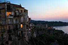 Tropea - Vibo Valentia (Massimo Frasson) Tags: italy italia tramonto mare calabria oldcity vacanze tropea centrostorico vibovalentia borgoantico pittoresco