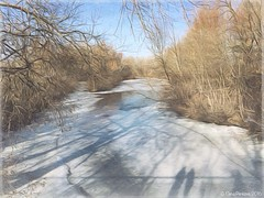 Waiting for spring... (Elena Penkova) Tags: ice nature river landscape frozen spring waiting pastel textures