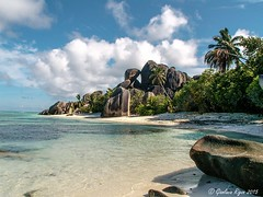 Anse Source d'Argent (Gianluca Rigon - pictures from the world) Tags: travel sea holiday ladigue seychelle