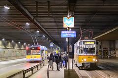In the tunnel (Rivo 23) Tags: sf sofia tram tunnel bulgaria solaris skoda ndk t6a2 troleybus cdk 27tr