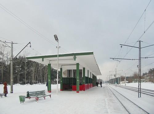 Kratovo platform rebuild 2004