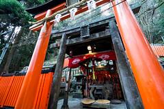 Fushimi Inari Shrine (Skagos26) Tags: orange japan nikon kyoto shrine asia inari shinto torii fushimiinaritaisha  okami d7100 1024mm