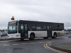 KD56GNP East Midlands Airport (Guy Arab UF) Tags: park bus buses car mercedes benz airport east midlands citaro kd56gnp