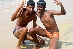 Happy Boys (IMG_4414b) (Denish C) Tags: friends boy beach beauty youth happy coast sand joy friendly srilanka ceylon serendib serendip