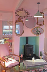 Mirror Mirror (Katie_Russell) Tags: pink ireland reflection reflections mirror cafe dora reflected reflect northernireland ni tearoom ulster portrush reflects nireland doras countyantrim norniron coantrim