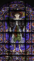 Seraph (Lawrence OP) Tags: angel cathedral stainedglass medieval chartres seraph