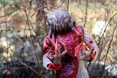Headcrab Zombie (Tyrannodactyl) Tags: life head zombie alien crab creepy half bloody halflife hl2 claws parasite guts headcrab