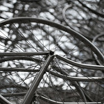 """Forever Bicycles"" sculpture<a href=""http://www.flickr.com/photos/28211982@N07/24557804499/"" target=""_blank"">View on Flickr</a>"