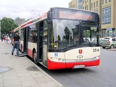 Solaris Urbino 18III, #2514, ZKM Gdask (transport131) Tags: bus vehicle urbino autobus solaris zkm gdask ztm