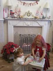 100_5477 (sheila32711) Tags: christmas doll galleries tilda masterpiece artistdoll annettehimstedt tildadoll