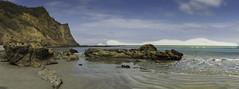 ECUADOR Pacific Coast (Lucie van Dongen) Tags: blue sea costa sun beach azul ecuador scenery rocks scenic arena equateur pacifico pacificcoast manabi playadelosfrailes dreamingbeach
