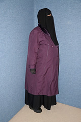 Fat Belly (Buses,Trains and Fetish) Tags: girl fat hijab belly sweat niqab slave burka chador
