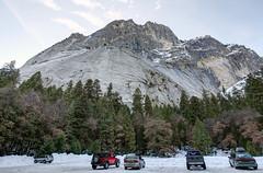 Parking lot, Yosemite Winter 2016 (Be Steel) Tags: winter rock landscape frozen nationalpark yosemite granite yosemitenationalpark canon1635mmf28 canon5dmkii