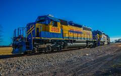 Hood County (trnchsr1984) Tags: railroad texas cresson emd sd40 fwwr