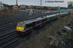 233 passes Islandbridge Jn, 2/2/16 (hurricanemk1c) Tags: dublin irish train gm rail railway trains enterprise railways irishrail 201 generalmotors 233 heuston 2016 emd iarnród éireann iarnródéireann 1700heustoncork islandbridgejunction