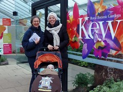 """Kew Gardens Orchids Festival Opening Day on 6 February 2016 (10/67) - Bea, Genevieve & Matheo (Kam Hong Leung.) Tags: park wood family winter brazil sculpture baby plant orchid tree london nature festival kew fauna garden lunch leaf kid spring pub flora child wine spirit wildlife father mother spouse son parent latin tropical hunter volunteer kam partner rbg temperate matheo """"greenhouse"""" igpoty """"botanicgarden"""" """"kewgardens"""" """"glasshouse"""" """"palmhouse"""" 'orchidfestival' """"brianpitcher"""" 'rbgkew"""" """"friendofkew"""" """"patronofkew"""" """"princessofwalesconservatory"""" """"yourkew"""" """"carlosmagdalena"""" """"elisabiondi"""" """"beatriceleung"""" """"kamhongleung"""" """"leungkamhong"""" """"londonpark"""" """"naturalneighbourhood"""" """"royalbotanicgarden"""" 'kewvolunteer' 'genevievegravel' 'internationalgardenphotographeroftheyear' 'thecricketers' 'ladyslipper 'nashgallery'"""