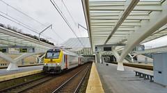 NMBS HVR 65054  Luik-Guillemins (Tren di Belgica) Tags: city station ic belgium gare belgi m6 luik intercity inter lige namen nmbs sncb guillemins 65054 stuurstand stuurrijtuig