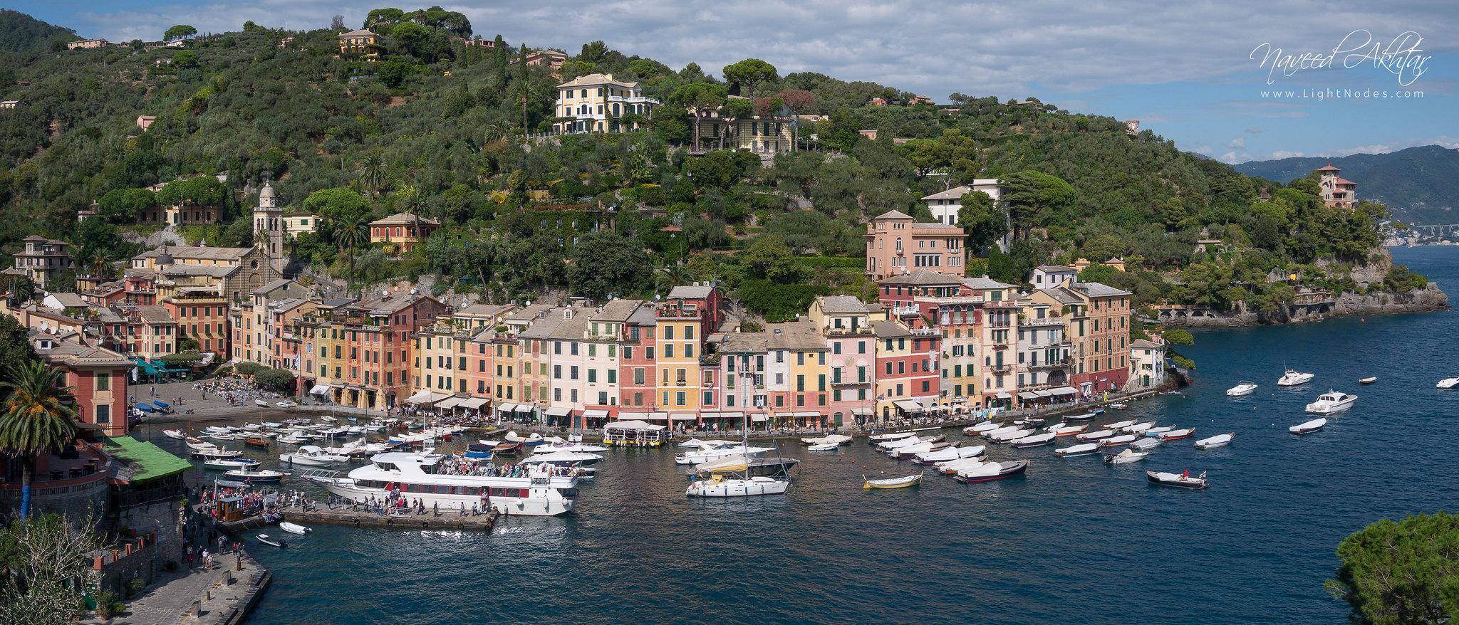 A sunny day in Portofino, Liguria 4K (21:9) with Panasonic DMC-GX7