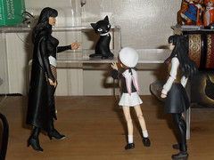 Magic Class (zaramcaspurren) Tags: dccomics cardcaptorsakura zatanna typemoon fatestaynight rintohsaka sakurakinomoto zatannazatara kinomotosakura dccollectibles figma tohsakarin justiceleaguedark