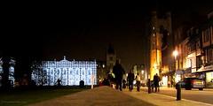 Let there be Light (innpictime ζ♠♠ρﭐḉ†ﭐᶬ₹ Ȝ͏۞°ʖ) Tags: cambridge light tower church night streetscene senatehouse pedestrians afterdark greatstmarys kingsparade cambridgeuniversity eluminate2015 522047160117590