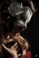 EVA (Salvo Cici) Tags: carnival woman sexy beautiful fashion female studio glamour lowlight eva pretty sensual flashing lowkey maschera strobist salvocici