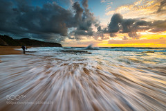 Wave range (tarverdiphotography) Tags: ocean sea sun seascape beach water clouds sunrise coast sand sydney wave australia 500px turimetta