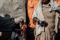 Benaras, India 2016 (RB Rao) Tags: woman india streetphotography oldman varanasi streetphoto benaras