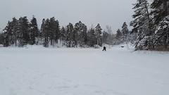 Ice fishing (Random Forum) Tags: winter fishing woods vnern mellerud