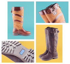 Rydale Skipton and Middleham Riding Boot Montage (AlexanderMoore) Tags: leather studio outdoors clothing colours boots country riding footwear product rydale alexandermoore