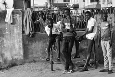 LOCAL BOYS. Aga, Ikorodu, 2015. (cadi.cliff) Tags: africa travel portrait people blackandwhite bw west boys faces state streetphotography photojournalism streetportrait lagos westafrica nigeria local activism socialchange ikorodu youthdrivenchange