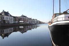 De Vaart in Assen (willemsknol) Tags: assen vaart pannenkoekenboot willemsknol