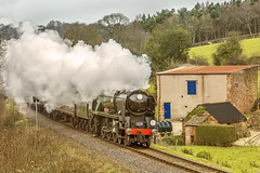 WSR_2016_03_11_099 (Phil_the_photter) Tags: watersmeet minehead leighwoods wsr 7f westsomersetrailway 8f 53808 53809 34098 standardtank templecombe 48624 80043 80072 roebuckcrossing