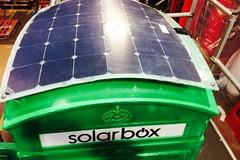Solar red phone box (C) Solarbox