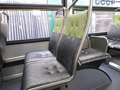 King County Metro 2015 New Flyer XT40 interior (4353) (zargoman) Tags: seattle county travel bus electric king metro trolley transportation transit kiepe elektrik kingcountymetro newflyer lowfloor xcelsior