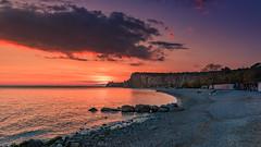 Tomorrow will be sunny (Massimo Buccolieri) Tags: ocean sunset seascape marina zonsondergang tramonto sonnenuntergang prdosol trieste marinha solnedgang sistiana solnedgng coucherdusoleil  lapuestadelsol  paesaggiomarino paysagemarin seestck  marinmlning  marinemaleri solisoccasum