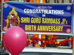 Shri Guru Ravidass Ji Jayanti Parade Leicester 2016 005 (kiranparmar1) Tags: ji indian leicester parade sikhs guru shri 2016 jayanti belgraveroad ravidass