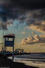(the best maio) Tags: spiaggia seasunset temporaleestivo