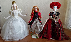 Alice - Through the Looking Glass Dolls (Lagoona89) Tags: film movie doll alice disney collection wonderland