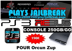 Orcun Zup (play3jailbreak) Tags: france slim relay dex commander play3 mondial jailbreak manette ps3 orcun zup 475 achat 250gb envoi acheter rebug