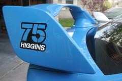IMG_1070 (86Reverend) Tags: blue david 2000 garage 25 subaru hyper 16 higgins 75 impreza wrx sti rs coupe 00 25rs 2016 serieshyperblue