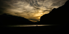 Inn (Edsome) Tags: sunset sky inn couple sonnenuntergang paar himmel twopeople inntal zweisamkeit