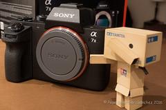Danbo unboxing Sony A7 (Pepe Soler Garcisnchez) Tags: toys tamiya unboxing nex danbo ilce a7ii danboard sonya7ii