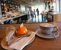 Coffeestop Hohoff (Torsten Frank) Tags: food caf deutschland kaffee cappuccino ruhrgebiet nordrheinwestfalen gastronomie kuchen getrnk gebck waltrop hohoff